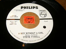 STEVE TYRELL - A BOY WITHOUT A GIRL - YOUNG BOY BLUES   / LISTEN - SOUL POPCORN