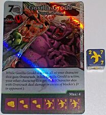 Foil GORILLA GRODD: FORCE OF MIND 58 Green Arrow and The Flash Dice Masters