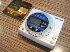 Sharp MT15 MD Minidisc silber. . Sound top (287) + Sony MD . Für 2 AA Batterie