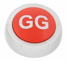 Upgraded RED Good Game Button with LED - 5 Year Anniversary Edition - Batt Incl