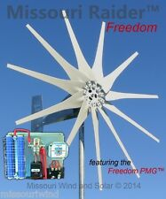 Wind turbine generator kit Missouri Raider 12 V 1700 Watt 11 Blade Wind Turbine