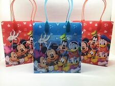 12 Pcs Disney Mickey Mouse Club House  GOODIE BAGS PARTY FAVOR BAGS GIFT Bags