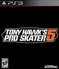 PS3 ACTION-TONY HAWK PRO SKATER 5  PS3 NEW