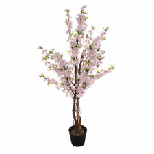 Artificial Realistic Foliage Potted Blossom Tree Pink 120 cm house-plant indoor