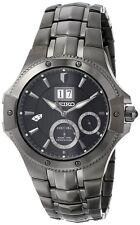 Seiko Para Hombres SNP071 Reloj De Plata Pantalla Analógico Cuarzo japonés