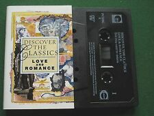 Discover The Classics Love and Romance Ave Maria + Cassette Tape - TESTED