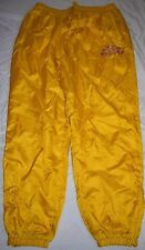 Mens Vintage Fubu Sports Windbreaker Pants 3XL 3X XXXL Yellow athletic #05