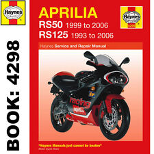 Aprilia RS50 1999-2006 RS125 1993-2006 Haynes Workshop Manual