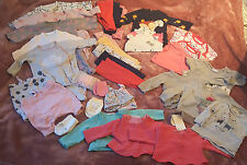 Bundle Baby Girls Clothes Newborn 0-3 Months incl Next Zara Mamas Papas 30 items
