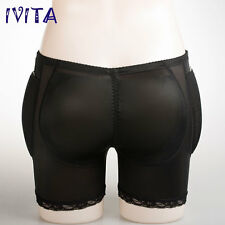 IVITA Soft Silicone Pads and Boxers Fake Butts for Cross-Dresser Hip Enhancer