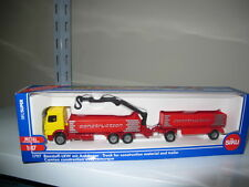 Mercedes Benz Arocs truck with crane HO 1/87 siku 1797 free shipping