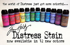 Tim Holtz DISTRESS STAIN all 12 SEASONAL colors Ranger