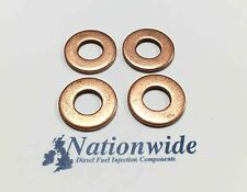 Ford Transit Connect 1.8 TDCi Common Rail Diesel Injector Washers Siemens x 4