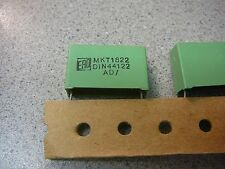 Vishay ERO MKT1822 Metallized Polyester 2.2uF 100V High Capacitance *NEW* 5/PKG