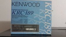 Kenwood KRC 189 Cassette Tuner AM/FM Car stereo with original packaging