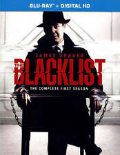 The Blacklist: The Complete First Season (Blu-ray Disc, 2014, 5-Disc Set) New