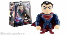 "JADA 4"" METALS  BATMAN V SUPERMAN SUPERMAN MOVIE VERSION FIGURES 97669"