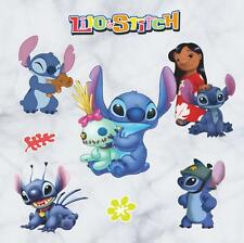 NEW Lilo & Stitch Removable Wall Stickers Decal Kids Home Decor US Seller