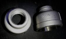 """STAINLESS STEEL REDUCER COUPLING 1 1/2"""" x 3/4"""" NPT RC-150-075"""