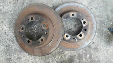 PORSCHE 944 S2 TURBO REAR BRAKE DISCS PAIR 70mm HIGHT.