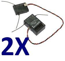 2X DSMX Empfänger + Satellit Full Range Kompatibel, für Spektrum DX6,DX7s,DX8usw