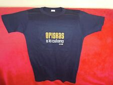RARE / T- SHIRT : ORISHAS - TAILLE S ( MEN ) / SIZE U - 100 % COTTON QUALITE