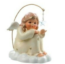 Hummel SITTING ANGEL WITH STAR CHAMPAGNE 828122 new in box