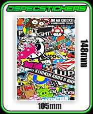 RC CAR STICKER BOMB DECAL A6 VINYL DRIFT HPI TAMIYA YOMOMO PANDORA 3RACING ABC
