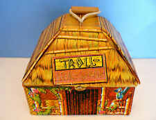 Vintage TROLL STIK/Stick SHACK Carry Case Playset (1960s) IDEAL - NICE!