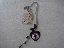 TARINA TARANTINO BARBIE CLASSIC SILHOUETTE HEART NECKLACE NWT