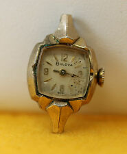 Non Working Vintage 10K RGP Bulova  R631661 Swiss 17 Jewels Ladies Wrist Watch