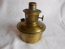 ANTIQUE ALADDIN BRASS OIL LAMP FONT INSERT with burner