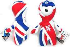 OLYMPIC 2012 LONDON GAMES PLUSH SOFT UNION JACK WENLOCK TOY GIFT 26CM TALL BNIB
