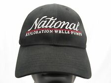 NATIONAL EXPLORATION WELLS PUMPS -  BALL CAP HAT!