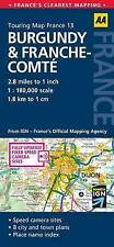 Good, Road Map Burgundy & France-Comte (AA Touring Map France 13), AA Publishing