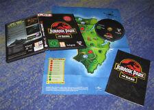 Jurassic PARK-THE GAME PC LKPL. tedesco con POSTER cartina ecc.