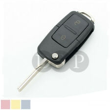 Flip Remote Key Case for VOLKSWAGEN VW Passat Golf Beetle GTI Rabbit 2 Button