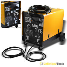 MIG-175 Dual Gas/No Gas 160 AMP 230V Flux Core Wire Welding Machine Auto Feeding