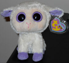 "Ty Beanie Boos ~ CLOVER the 6"" Lamb ~ MINT with MINT TAGS ~ RARE RETIRED"