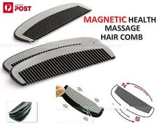 Bio Magnetic Health Massage Tourmaline Energy Anti Static Hair Brush Comb