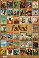 FALLOUT 4 ~ MAGAZINE COVERS COLLAGE ~ Brand New 24x36 Video Game Poster
