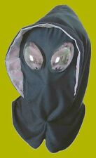 Alien or Mutant or Bug Eyed Mask with Hood New Adult Costume Accessory