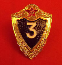Soviet ARMY PROFICIENCY Badge 3cl Original USSR Soldier Private / NCO Award Pin