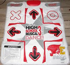 Sony Play Station 2 PS2 DDR Beat Pad Disney High School Musical Dance Mat ONLY