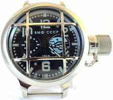 RUSSIAN USSR SUBMARINE NAVY DIVER WATCH VODOLAZ SOVIET DIVING STYLE