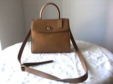COACH VINTAGE GRACIE CROSS BODY BEIGE LEATHER HANDBAG MADE IN ITALY
