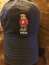 Polo Bear by Ralph Lauren Varsity Bear Cap Dad Baseball Hat NWT 2016 Retro