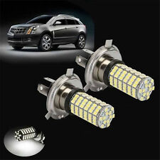 2pcs H4 120 SMD Car Light Bulb Hi/Low Beam LED Fog Headlight 9003 HB2 Lamp 6500K