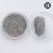 Grey Color Fuzzy Flocking Velvet Nail Powder Manicure Powder Decoration DIY