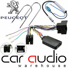 Peugeot 307 2005-08 to CLARION Car Stereo Steering Wheel Interface & Aerial Kit